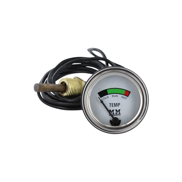 Restoration Quality Water Temp Gauge - Bubs Tractor Parts