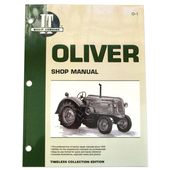 Oliver I&T Shop Manual - Bubs Tractor Parts