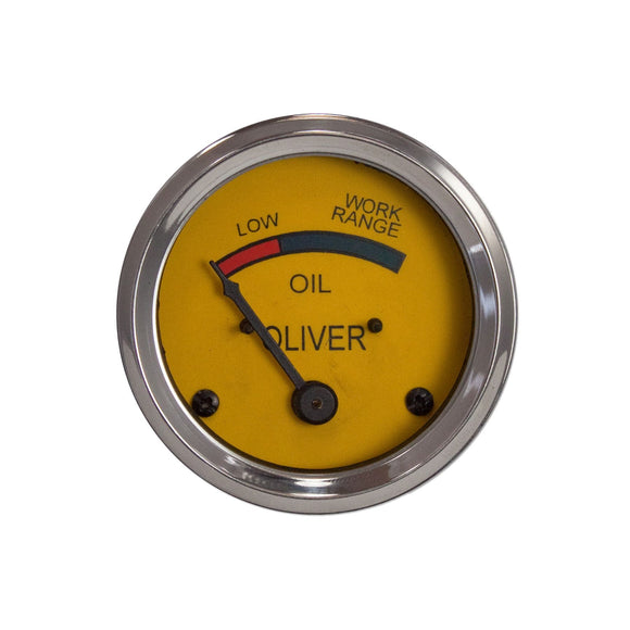 Oil Pressure Gauge (0-25 PSI) - Dash mounted - Bubs Tractor Parts