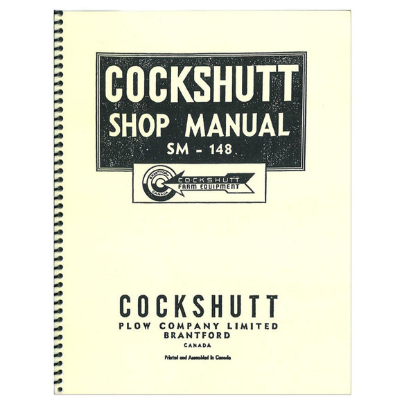 Service Manual Reprint: Cockshutt 30, Co-Op E3 - Bubs Tractor Parts