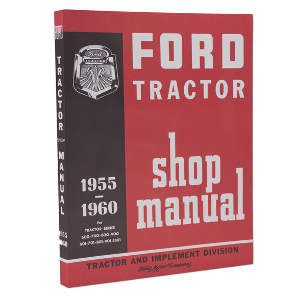 Ford Service Manual Reprint - Bubs Tractor Parts