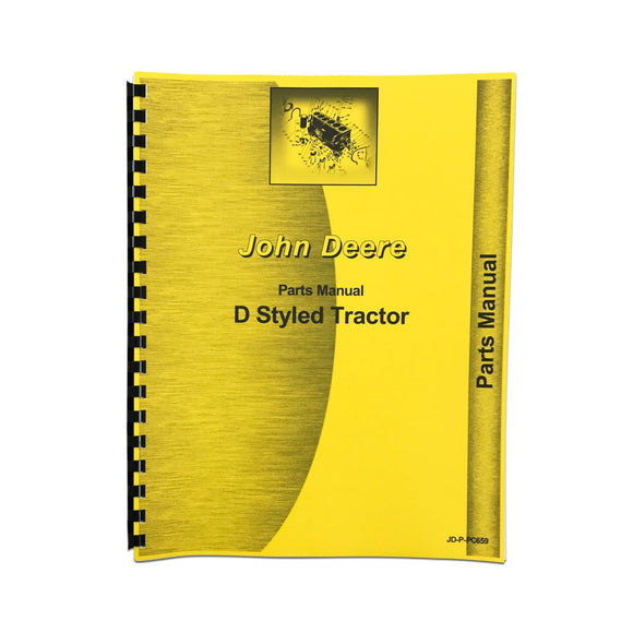 Parts Manual Styled JD D - Bubs Tractor Parts