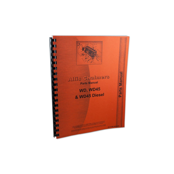 Allis Chalmers WD, WD45 Parts Manual - Bubs Tractor Parts