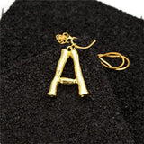 'BAMBI' CUSTOM LETTER PENDANT NECKLACE