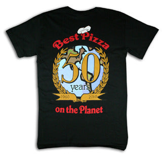 50th Anniversary Globe T-Shirt