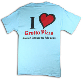 I Heart Grotto Pizza T-Shirt