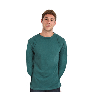 Adults Pigment-Dyed Long Sleeve T-Shirt (Style #115)