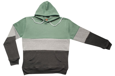 Adults Color Block Hooded Pullover (Style# 469)