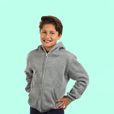 Kids Zip-Up Hoodie | Made In America (Style #511)