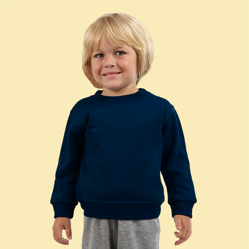 Toddler Crewneck Sweatshirt (Style #535A)