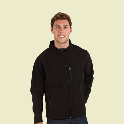 Mens Zip Up Softshell Jacket (Style #752)