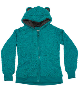 Kids Fuzzy Fleece Jacket With Ears (Style #760)