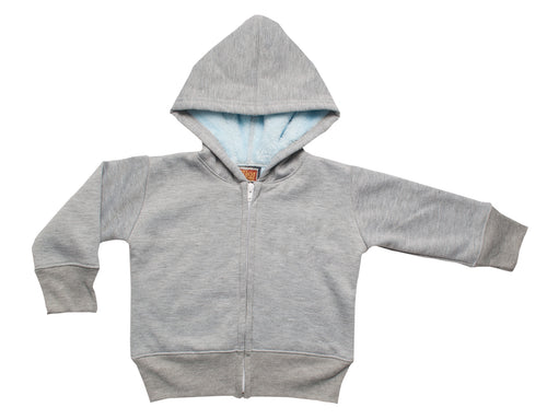 Toddlers Fullzip Hooded Furry Bonded Fleece (Style# 796)