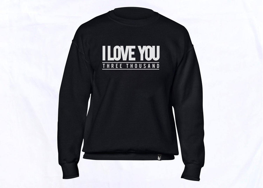 I love you 3000 - sudadera colores disponible 2 colores disponible - Stockholm company