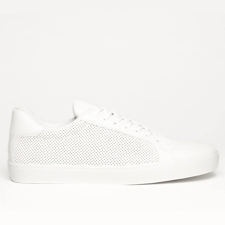 NY PURE MONOCHROME CLASSIC WHITE SNEAKERS - Hikis