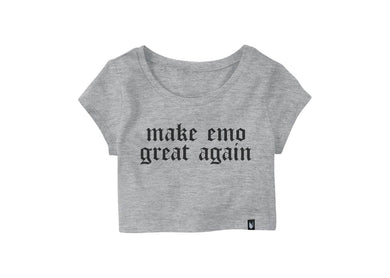 Make emo Great again - Crop top - Stockholm company