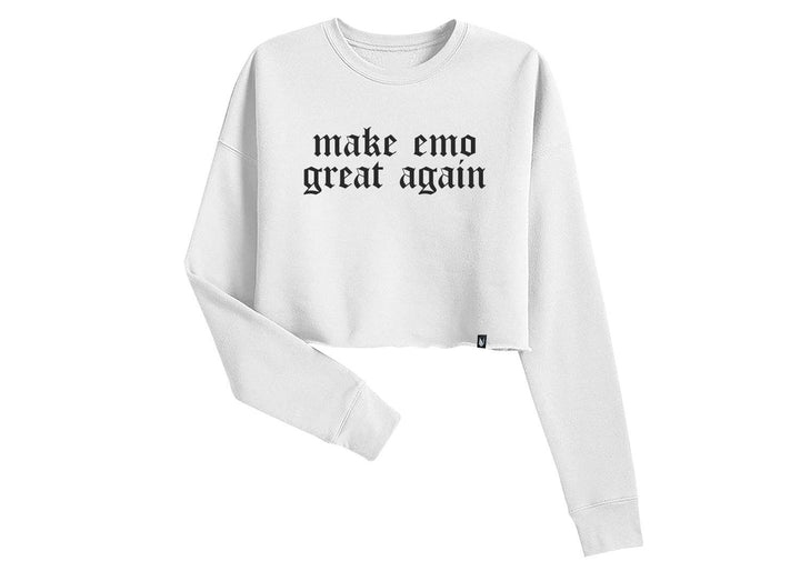 make emo great again - Sudadera Crop top 3 colores disponible - Stockholm company