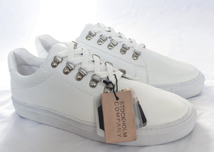 Berlin White Shark - Sneakers Tenis   eco-friendly (incluye playera sorpresa)  Hechos a mano - Stockholm company
