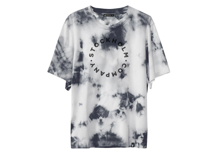 key circle tie dye - playera - Stockholm company