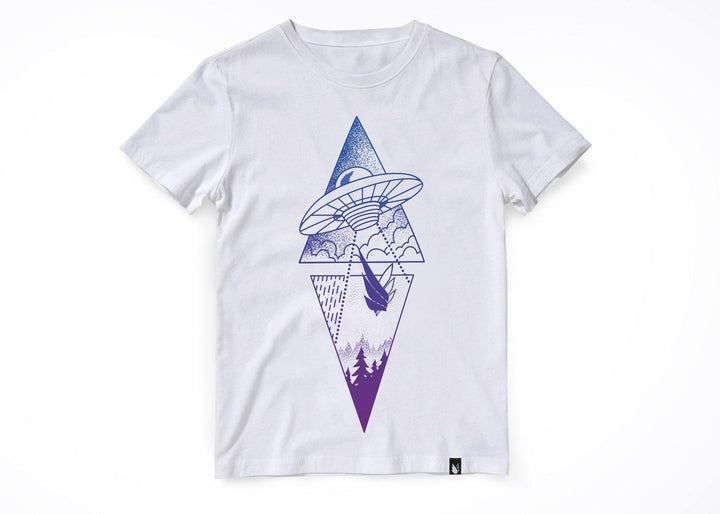 UFO ovni Bicolor - Playera 2 colores disponible - Stockholm company