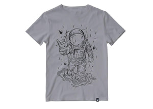 Lluvia y astronauta - Playera 5 colores disponible - Stockholm company