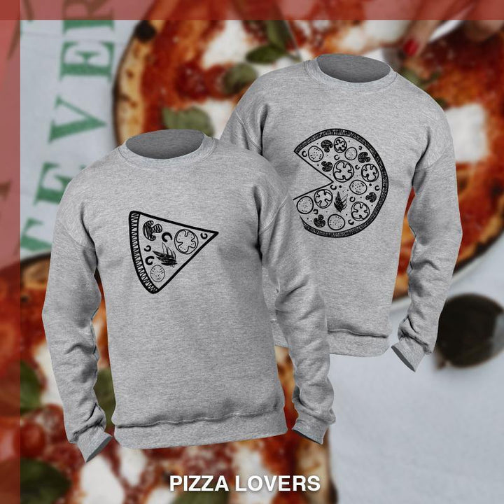 Pizza Couple - Sudadera 2 colores disponible - Stockholm company