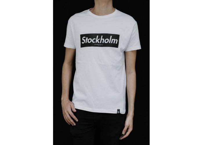 STOCKHOLM CO.  Block Label - Playera 2 colores disponible - Stockholm company