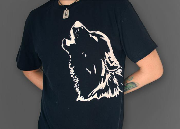 The wolf - Playera 2 colores disponible - Stockholm company