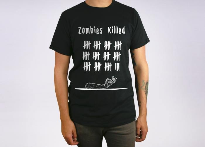 Zombies killed - Playera - Stockholm company