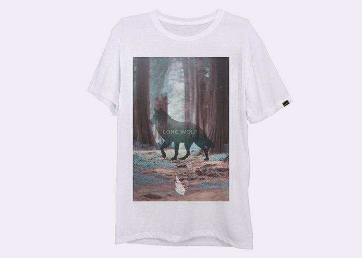 Lone Wolf - Playera 2 colores disponible - Stockholm company