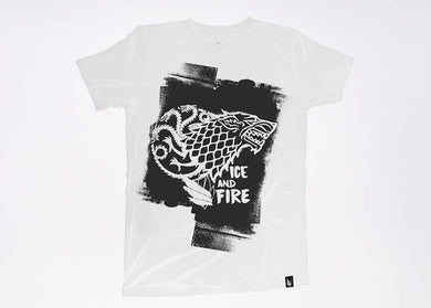Ice and Fire Game of thrones - Playera - Stockholm company