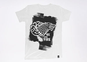 Ice and Fire Game of thrones - Playera 2 colores disponible - Stockholm company