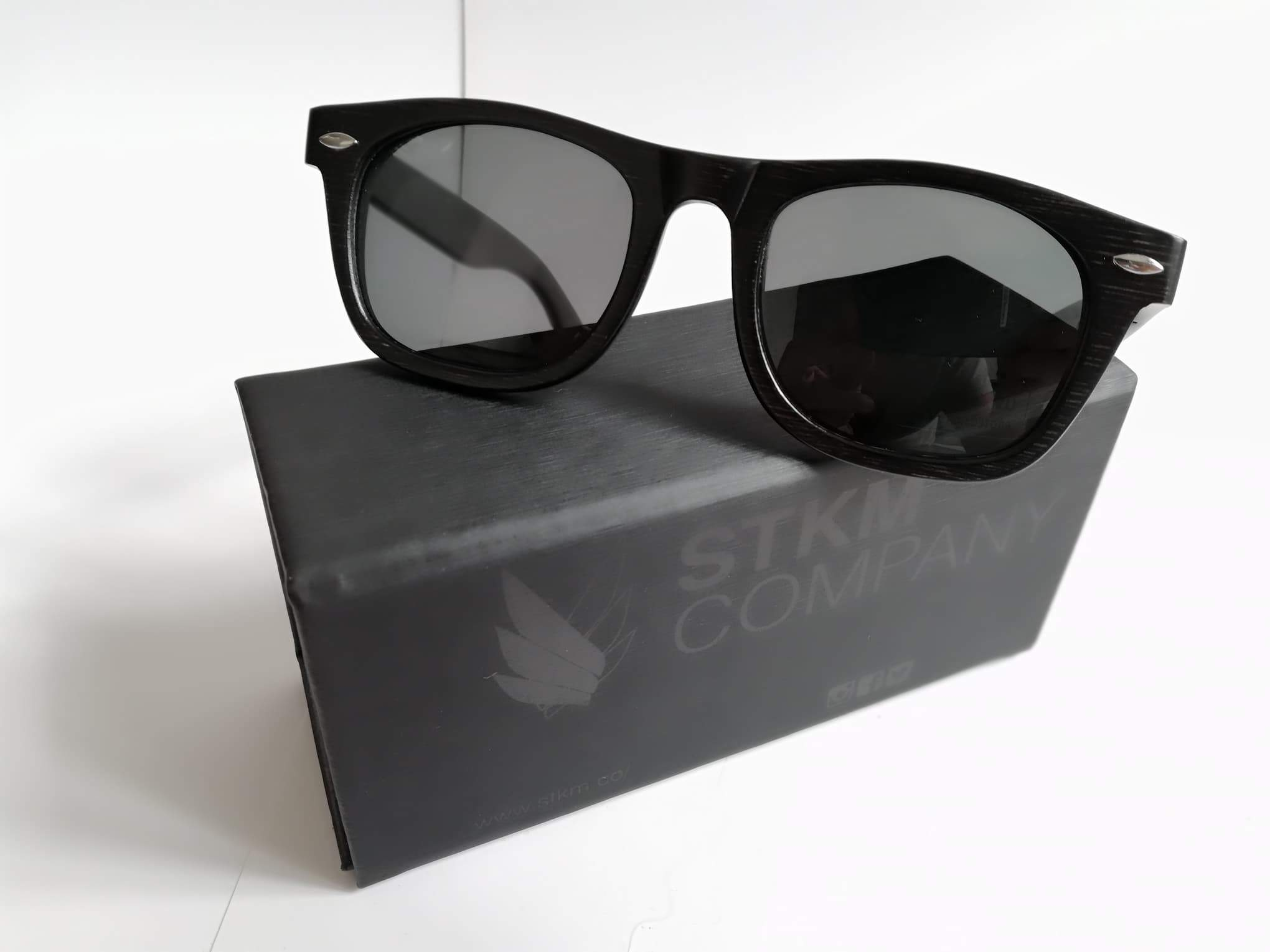 ac8427b6a9 Lentes de sol - Black bambu eco friendly