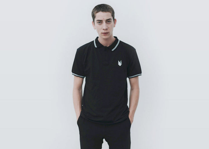 Black & white - Polo Shirt