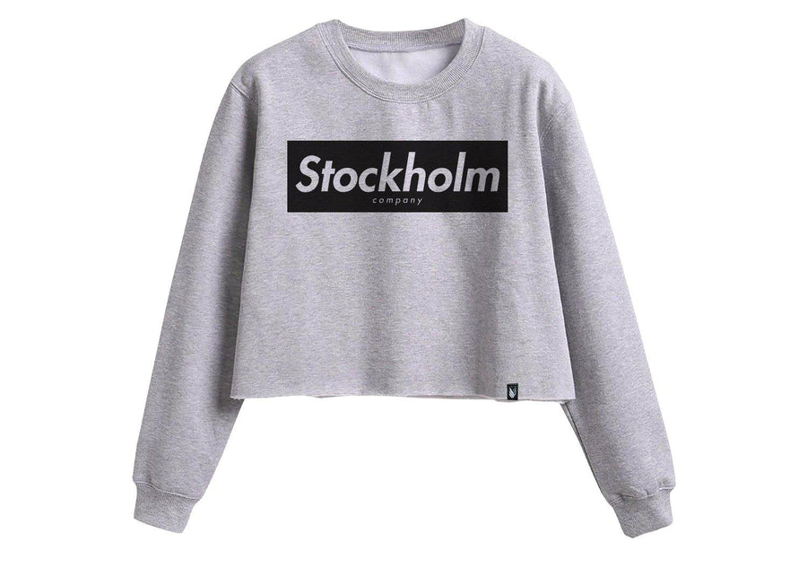 Stockholm Block - Sudadera Crop top 3 colores disponible - Stockholm company