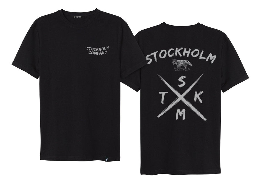 Team UP X wolf STKM - Playera 4 colores disponible - Stockholm company