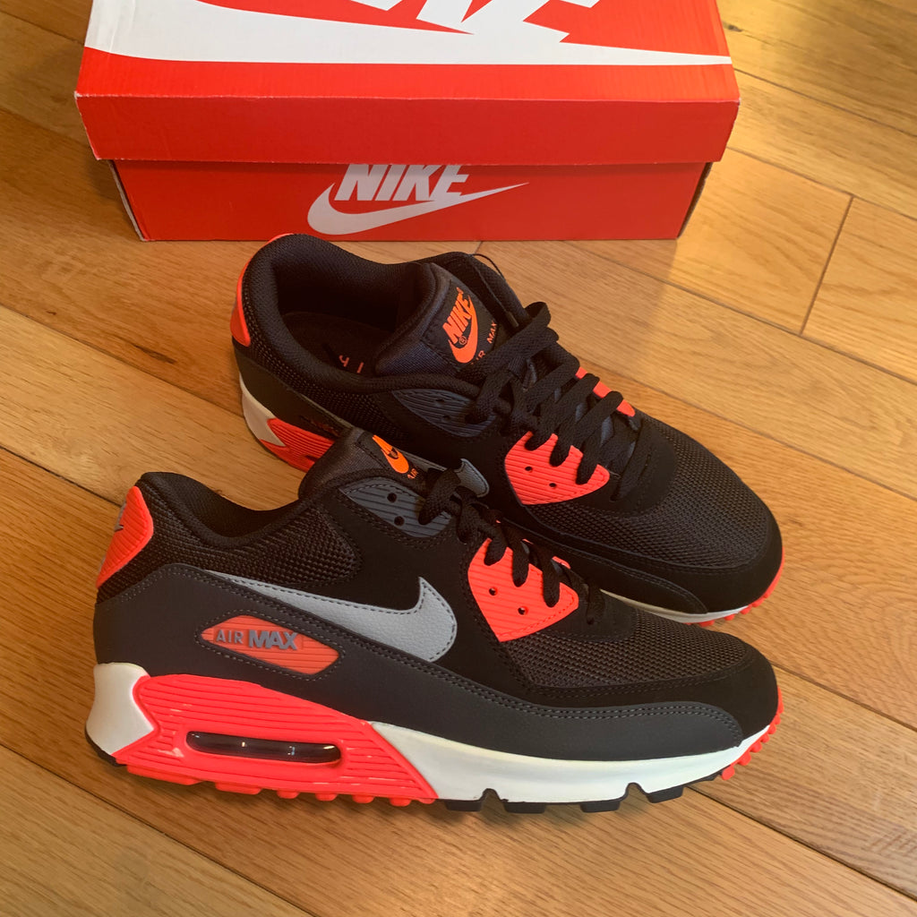 newest 7454a 7cba3 AIR MAX 90 ESSENTIAL BLACK INFRA (LW SIZE 11)