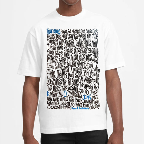 T-Shirt by True Blue by artist Renda Writer