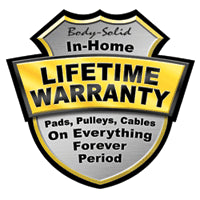 In-Home Lifetime Warranty