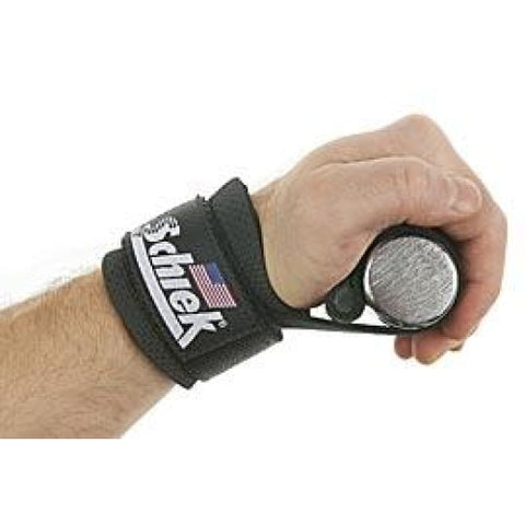Schiek Power Lifting Straps with Dowel #1000DLS - Lifting Straps