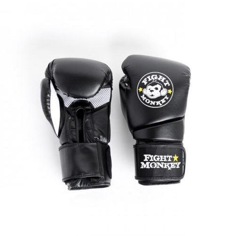 Fight Monkey 12 oz Training Glove - Synthetic Dura-Skin #FM2617 - Boxing & MMA