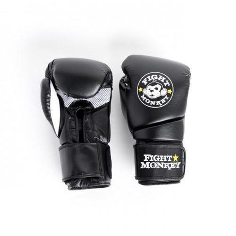 Fight Monkey 14 oz Training Glove - Synthetic Dura-Skin #FM3386 - Boxing & MMA