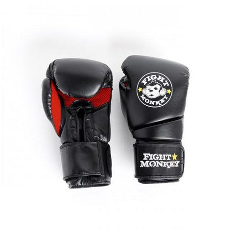 Fight Monkey 16 oz Training Glove - Synthetic Dura-Skin #FM2618 - Boxing & MMA