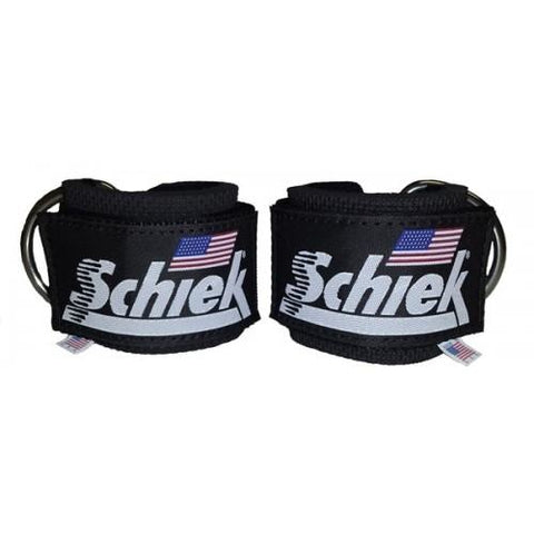 Schiek Ankle Straps #1700 - Cable Attachment Bars
