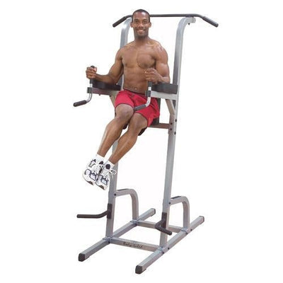 Body-Solid Vertical Knee Raise/Dip/Push-Up/Chin - Chin Up Bars