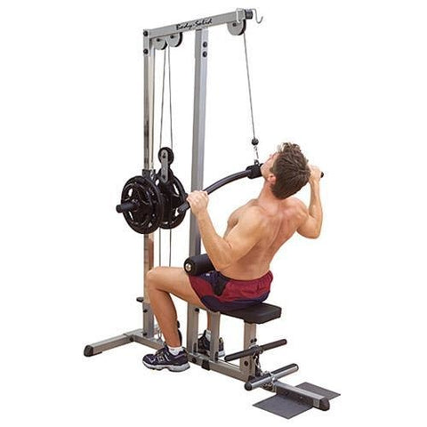 Body-Solid Plate Loaded Lat Machine #GLM83 - Upper Body