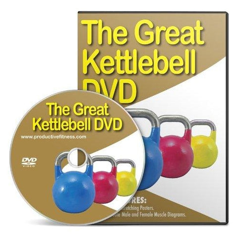 The Great Kettlebell DVD - Kettlebells