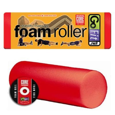 GoFit Foam Roller - 18 - Yoga & Pilates