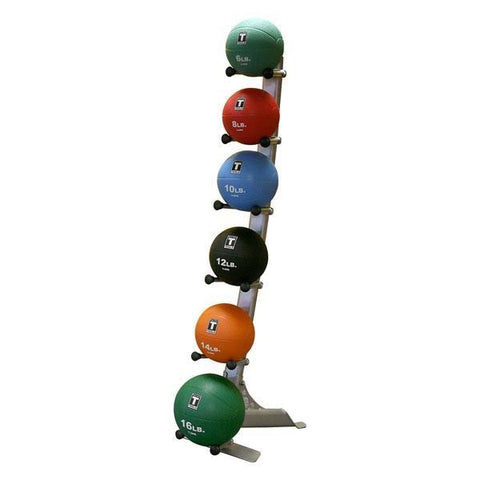 Body Solid Medicine Ball Set with Rack #GMR10-PACK - Medicine Balls