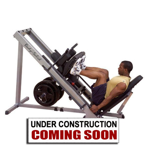 Pre-owned Body-Solid Leg Press/ Hack Squat Machine #GLPH1100